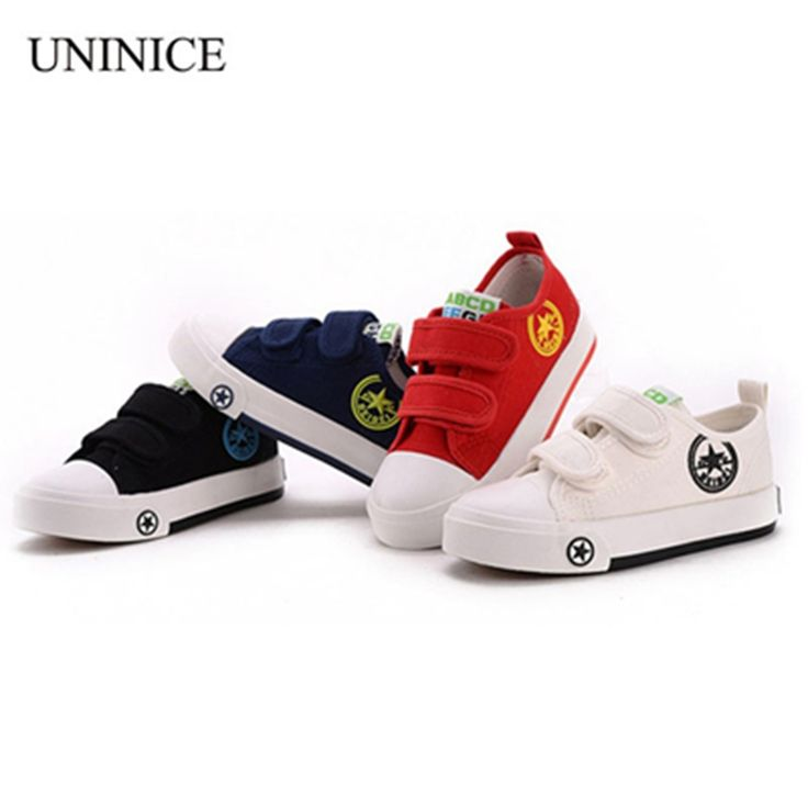 Nice New 2017 spring autumn children canvas shoes breathable casual soft bottom shoes for girls and boys school sports shoes sneakers - $ - Buy it Now! Check more at http://kidshopglobal.com/kids-and-baby-shop-online/shoes/childrens-shoes/boys/new-2017-spring-autumn-children-canvas-shoes-breathable-casual-soft-bottom-shoes-for-girls-and-boys-school-sports-shoes-sneakers/