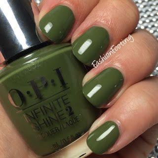 OPI Infinite Shine Olive For Green www.ScarlettAvery.com