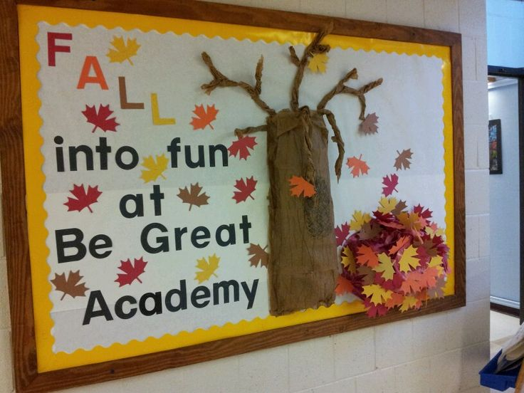 Our fall bullentin board