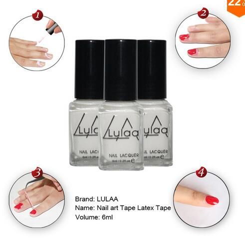 Nail Polish  2016White Peel Off Liquid nail art Tape Latex Tape finger skin protected liquid Palisade Easy clean Base Coat care nail polish * AliExpress Affiliate's Pin.  Click the VISIT button to view the details on AliExpress website.