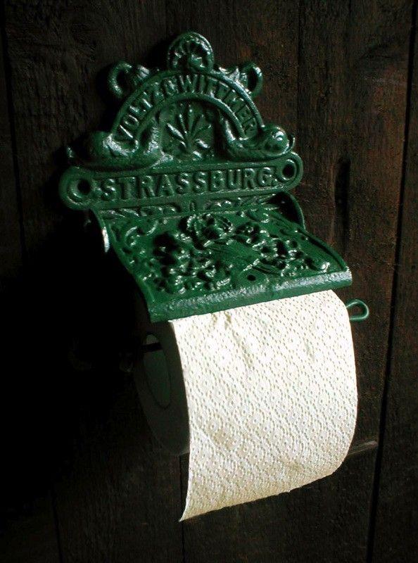Toilettenpapier Halter F Toilette+Bad, Abroller Toilettenpapier Rollen Wie  Antik