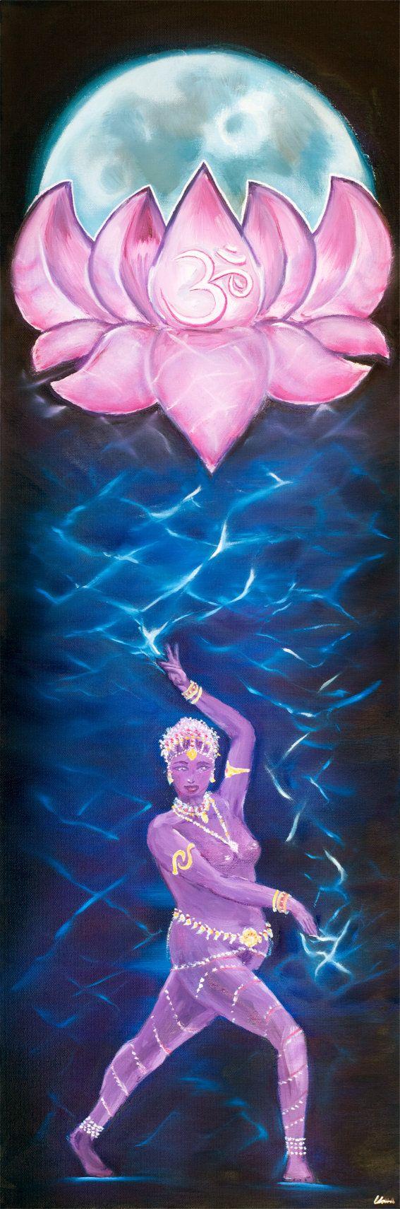 Saroj  Lotus Moon Dancer Series by MissSharda on Etsy