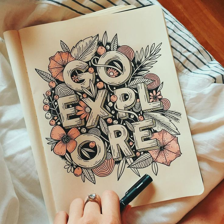 "1,635 Likes, 41 Comments - Stephanie Baxter (@stephsayshello) on Instagram: ""Getting all my work finished up nice and early cos it's FRIDAY #handlettering #illustration…"""