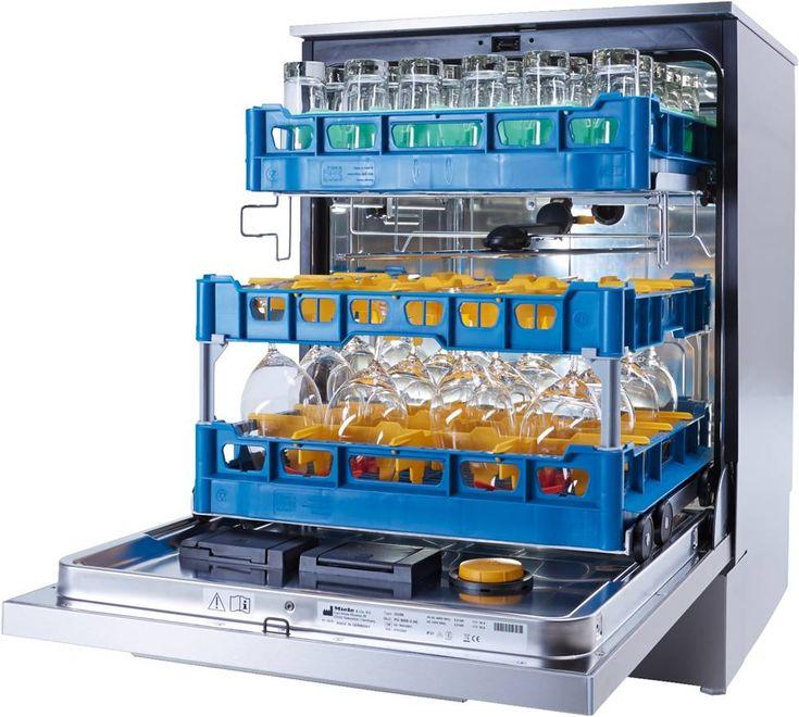 miele professional dishwashers interior
