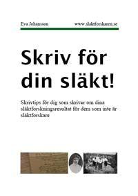 Skrivhandbok för släktforskare