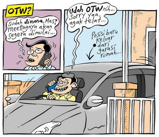 Mice Carton, Info Jakarta - Oktober 2014: OTW?
