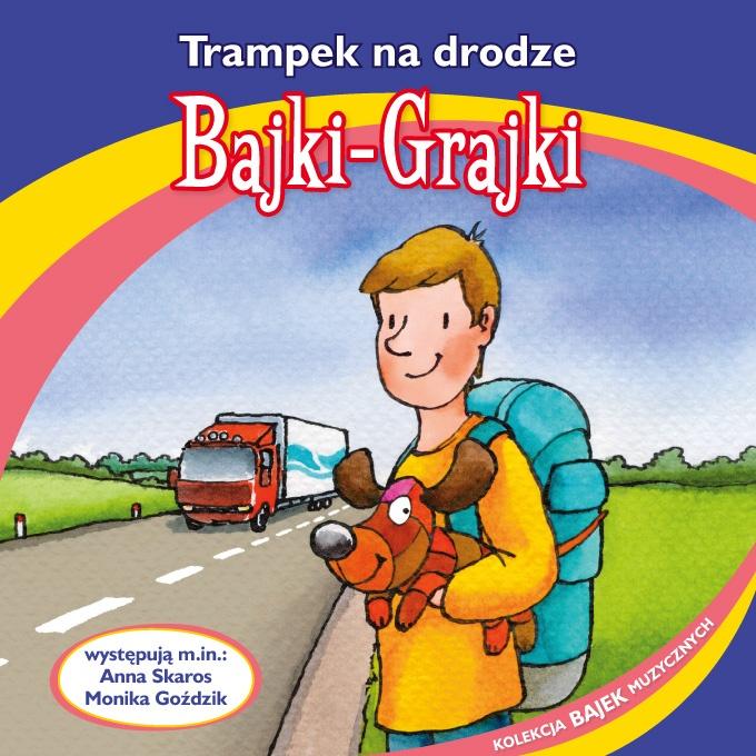 """Bajki-Grajki nr 81""""Trampek na drodze""""  Ilustracja: Marcin Bruchnalski  www.bajki-grajki.pl"""