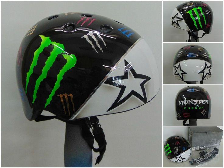 Specialized Monster Energy Bicycle BMX Skateboard Snowboard KALI Helmet -S-NEW- #KALI