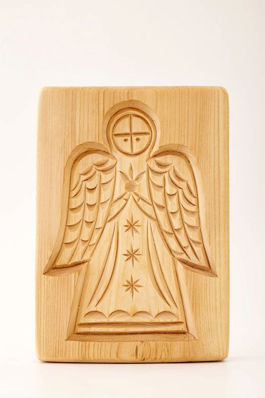 ANGEL wooden mold for pryaniki and cookies by PryanikiAndCookies