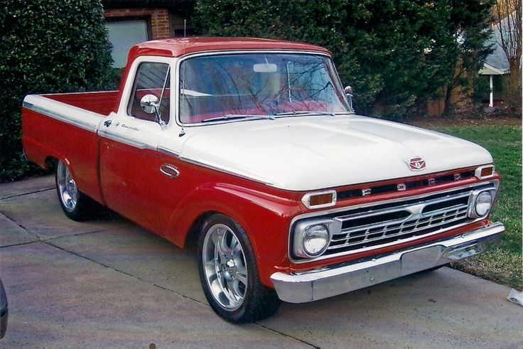 1966 F100 - Sweet truck!  Reminds me of out '66 F100 and such fun times!
