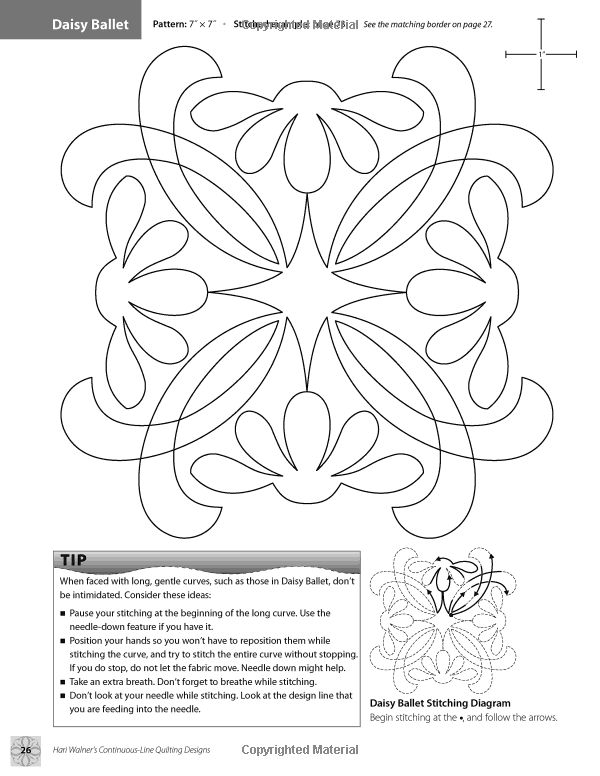 Hari Walner's Continuous-Line Quilting Designs: 80 Patterns for Blocks, Borders, Corners, Backgrounds: Hari Walner: 9781607051763: Books -...