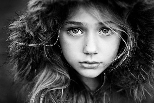 One of the most compelling portraits ever.  This is why I want to do more black and white work.