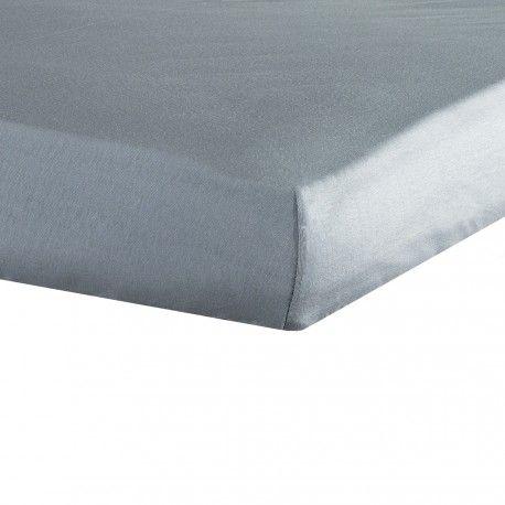 """Complétez votre collection linge de lit """"Miam le gâteau"""" avec notre drap housse bébé gris disponible en 70x140, 60x120 et 40x80cms."""