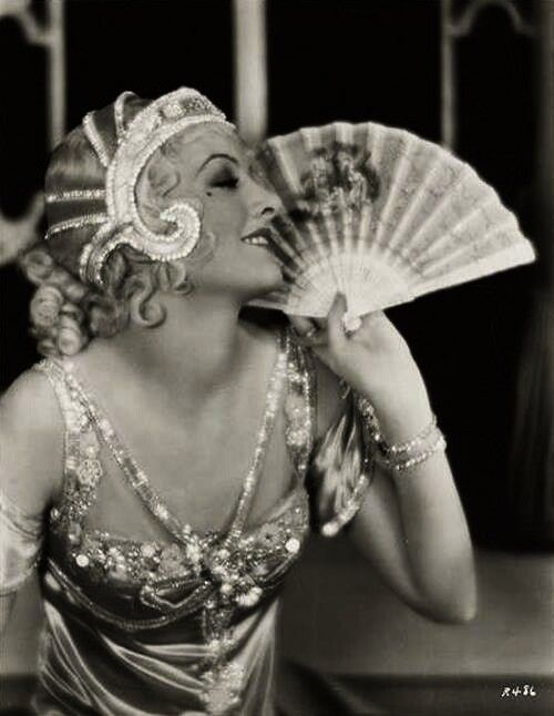 """Myrna Loy in """"Bride of the Regiment"""" 1930 from Screen Deco on FB"""