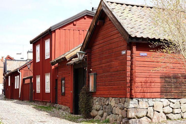 Strängnäs Sweden  Houses from the 1700 century.  https://flic.kr/p/nbDtGC