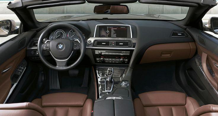 6 Series Convertible Interior