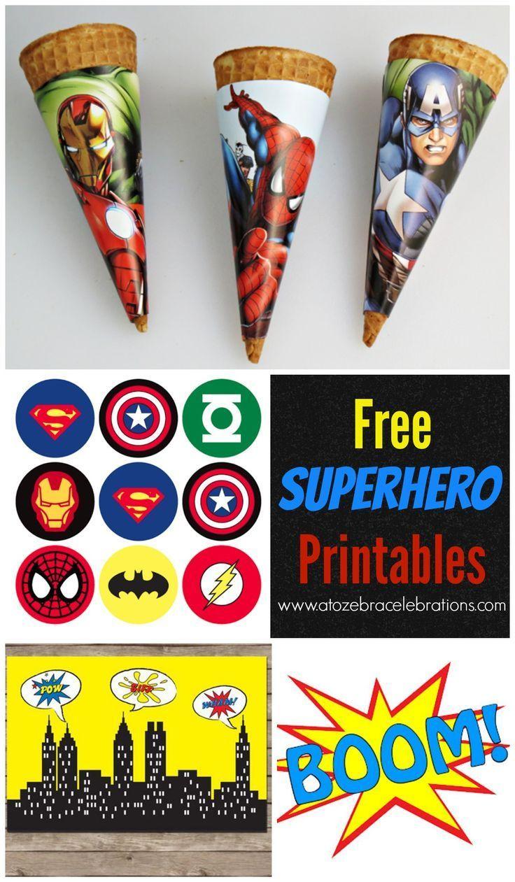 Free Superhero