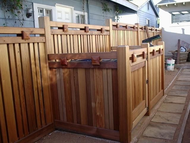 91 best images about fences and gates on pinterest for Craftsman style fence