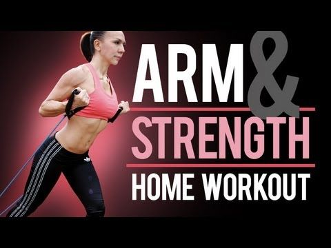 how to build strength in arms at home