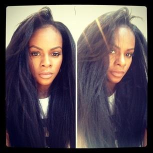 Hair Inspiration; Natural hair blown out!