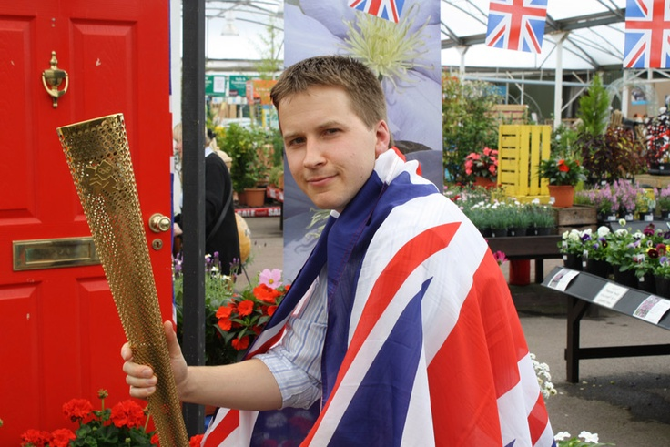 Will, Assistant Manager at Badshot Lea getting into the Olympic spirit!