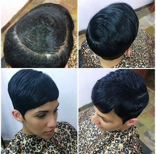 Quick Weave Top - Short Weave - http://community.blackhairinformation.com/hairstyle-gallery/weaves-extensions/quick-weave-top-short-weave/ #weavesandextentions