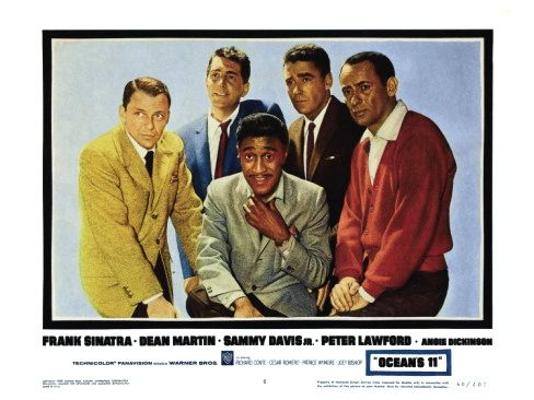 original and best dressed ocean 39 s eleven from 1960 five rat pack members stared 1960 39 s and. Black Bedroom Furniture Sets. Home Design Ideas