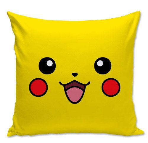 Pokemon Pillow Pikachu Pillow Gamer pillow by NiviaWorkshop