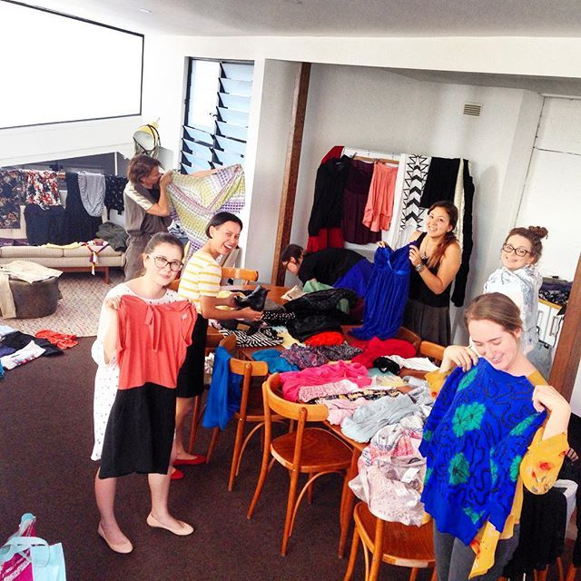 Today marks our first ever IQS Office Clothes Swap! Reuse, reduce and refashion! Should we make this a thing? Do you guys want in?