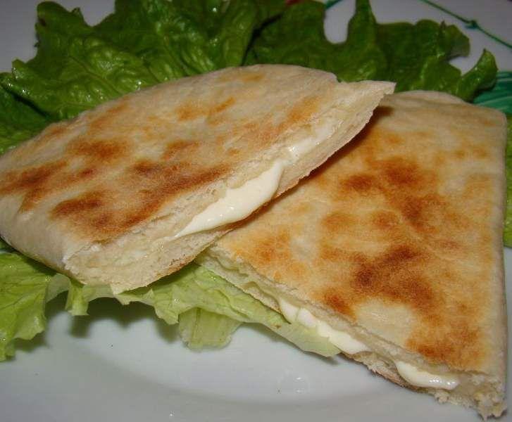 Recette Cheese naan par gaby0706 - recette de la catégorie Pains & Viennoiseries