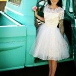 Vestido de noiva   -  Anos 50