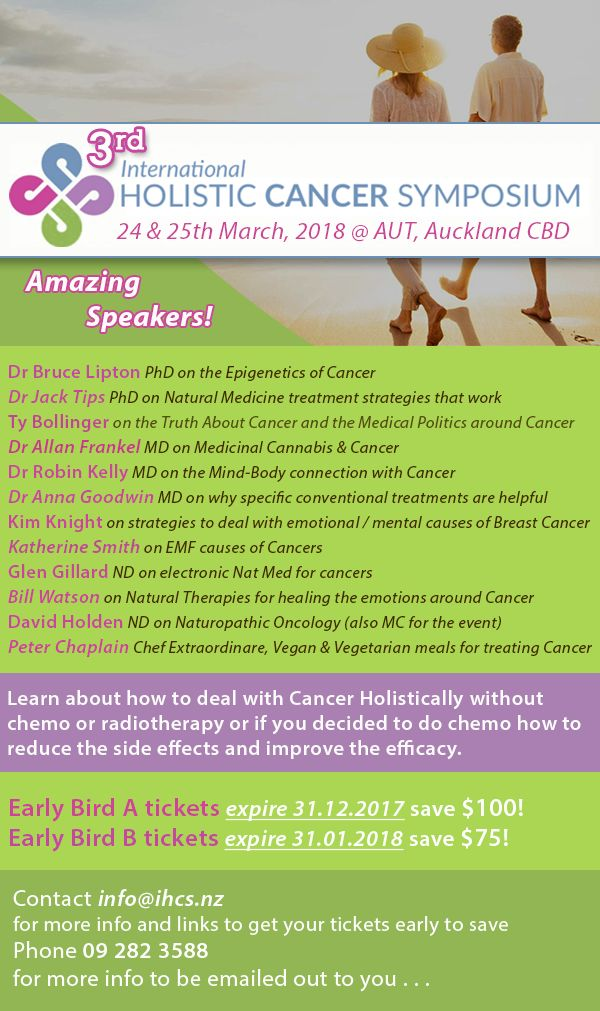 Book now and get the early bird Tickets! Issue 92 sent Wed 20th December. http://conta.cc/2oNtzuz   #DrumRoll #DrumRollPromotions #NewZealand #wellbeing #connection #community #advertising #promote #HolisticCancerSymposium