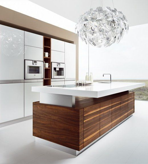 22 Minimalistic Wooden Kitchen Designs