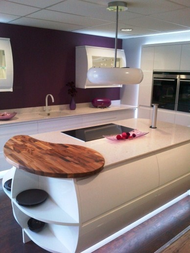 kitchen island with hood the white gemini cooker looks great in this white and 5212