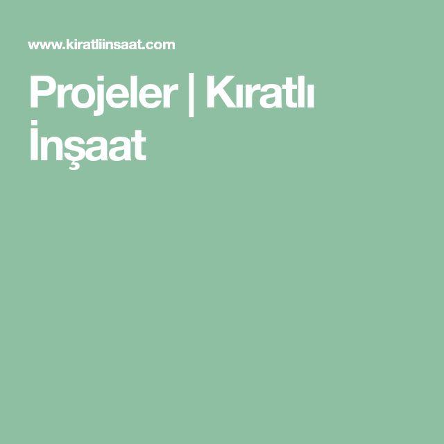 Projeler | Kıratlı İnşaat