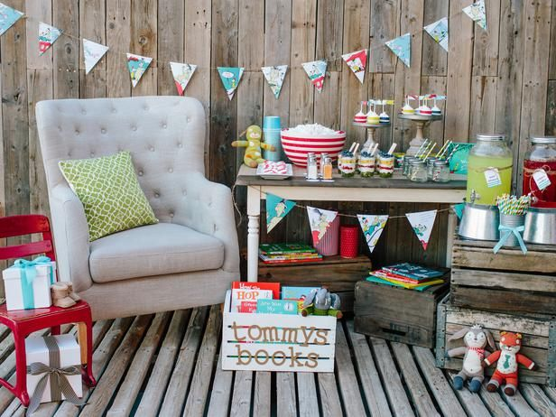 Host a book themed baby shower to fill the baby's library with classic story books >> http://www.diynetwork.com/decorating/throw-a-stock-the-library-baby-shower/pictures/index.html?soc=pinterest