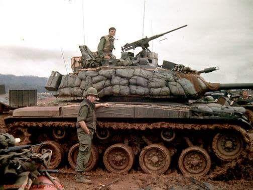 ARVN M41 Walker Bulldog during Operation Lam Son Vietnam War.
