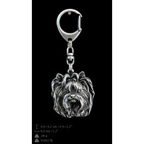 Keyring covered thin layer of silver (1)
