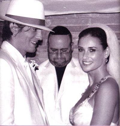 Actors Ashton Kutcher and Demi Moore were married September 24, 2005. The traditional Kabbalah wedding took place at the couple's Beverly Hills home at 10 p.m.