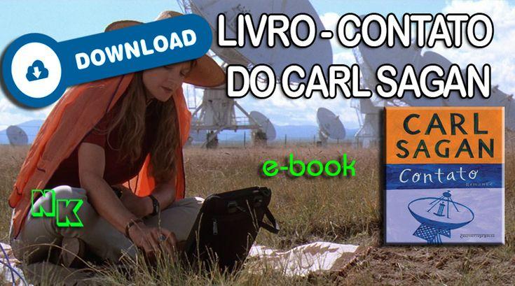 Download do Livro – Contato do Carl Sagan – Nerd king
