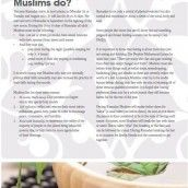 ~Working Muslim Guide to Ramadan    This year Ramadan [the month of fasting] starts on 20/21 July 2012. In order to enable employers and employees to fulfil their obligations to each other in this month Saiyyidah Zaidi, founder of Working Muslim, in partnership with The Muslim Council of Britain and 1st Ethical Charitable Trust, Khanz and Australian Muslim Association has prepared the Second edition of the Working Muslim Guide to Ramadan.