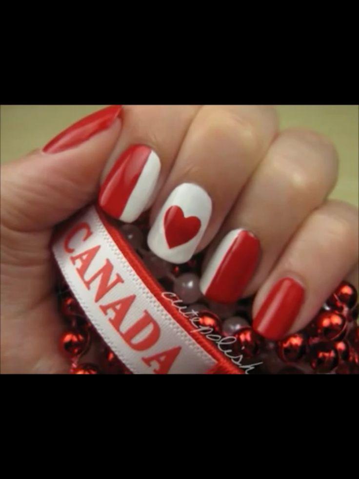 Canada nails!