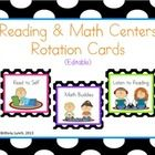 Here are some colorful polk dot cards to use for Reading Workshop, Guided Reading, Daily Five, Math Workshop, or Guided Math. Put these cards in a ...