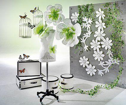 49 best images about decoraciones con flores de papel on for Decoracion con plantas