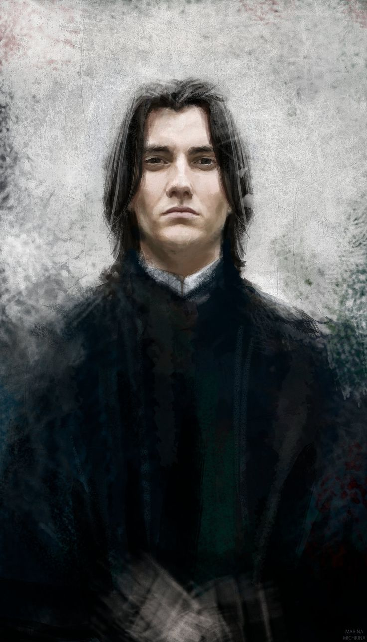 Severus Snape by MarinaMichkina.deviantart.com on @DeviantArt