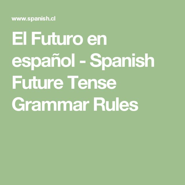 future tenses grammar rules pdf