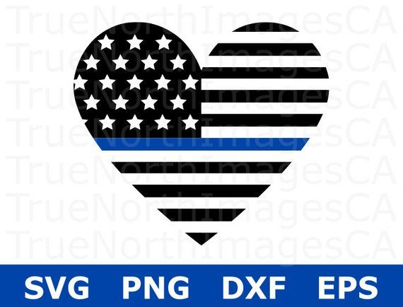 """Thin blue line decal sticker American Flag LEO support police FREE SHIP 4/""""-22"""