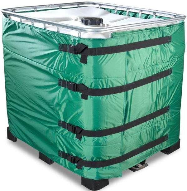 Ibc Container Covers And Heaters Ibc Insulated Rain Collection
