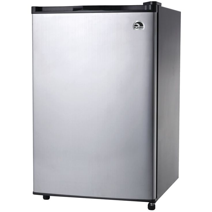 Shop Igloo  FR465 4.5-cu-ft Freestanding Compact Refrigerator (Stainless Steel) at Lowe's Canada. Find our selection of mini fridges at the lowest price guaranteed with price match + 10% off.