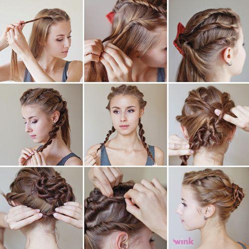 Krásny a jednoduchý spoločenský účes. Vyskúšate? http://wink.sk/beauty/vlasy/krasny-a-jednoduchy-uces.aspx